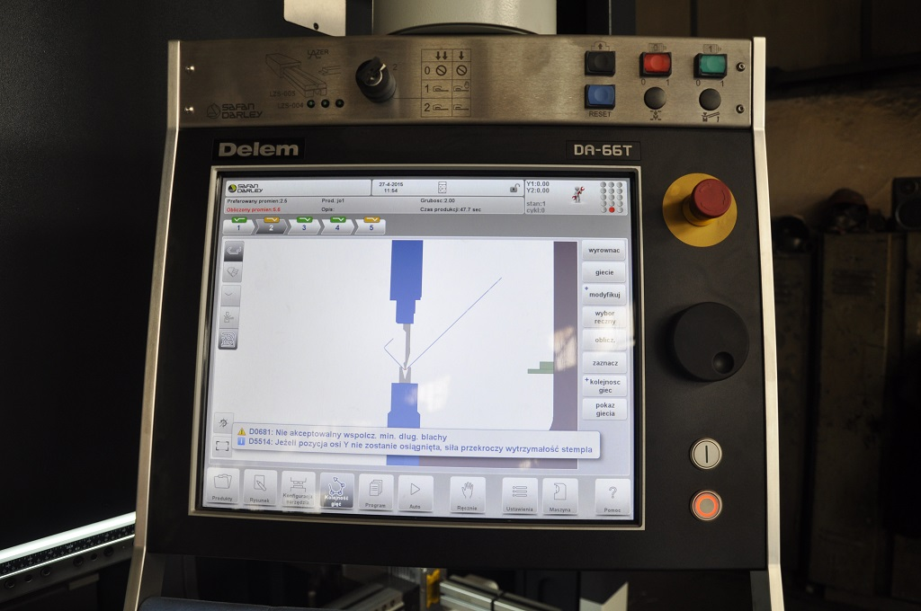 Safan zd3 Sterownik CNC